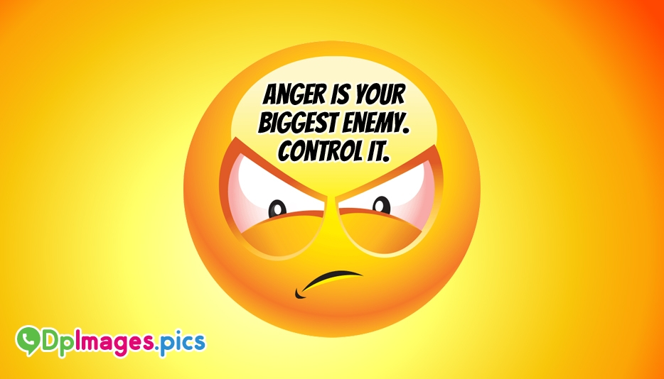 Angry Mood Status DP Images For Whatsapp, Facebook