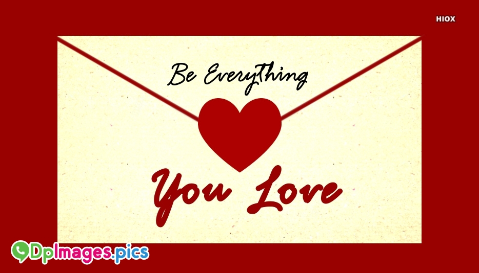Whatsapp Dp for You Are My Everything