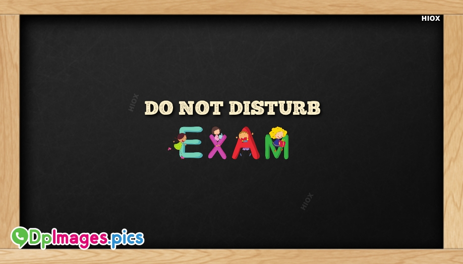 Whatsapp Dp for Exams Funny
