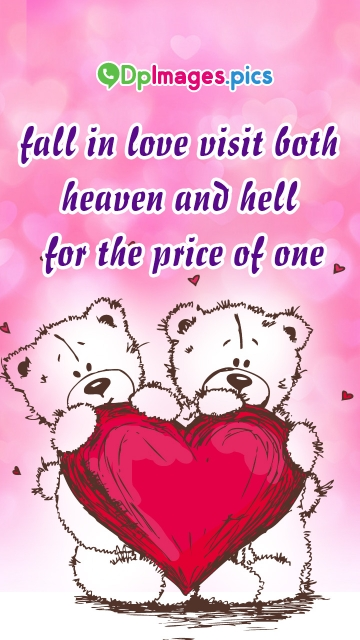 Fall In Love. Visit Both Heaven and Hell For The Price Of One.