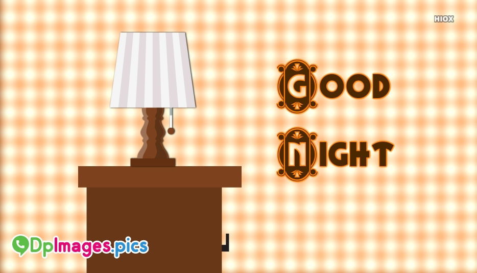 Good Night Images With Lamp