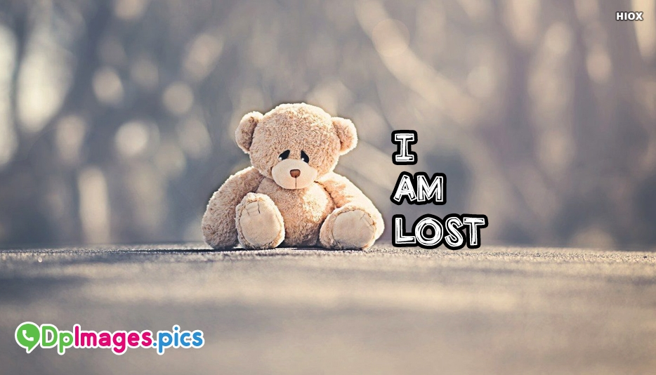 i am lost whatsapp status