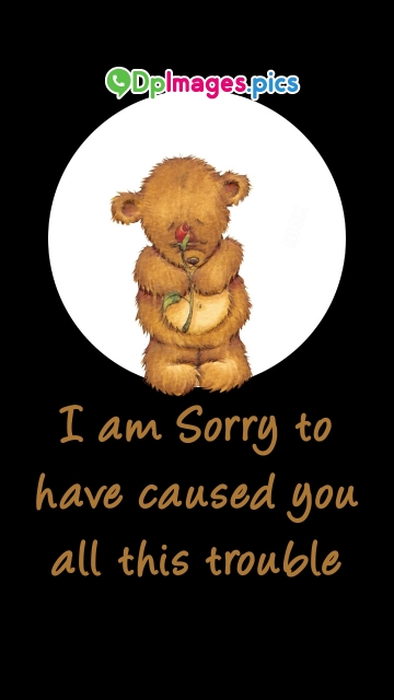 I Am Sorry Quotes