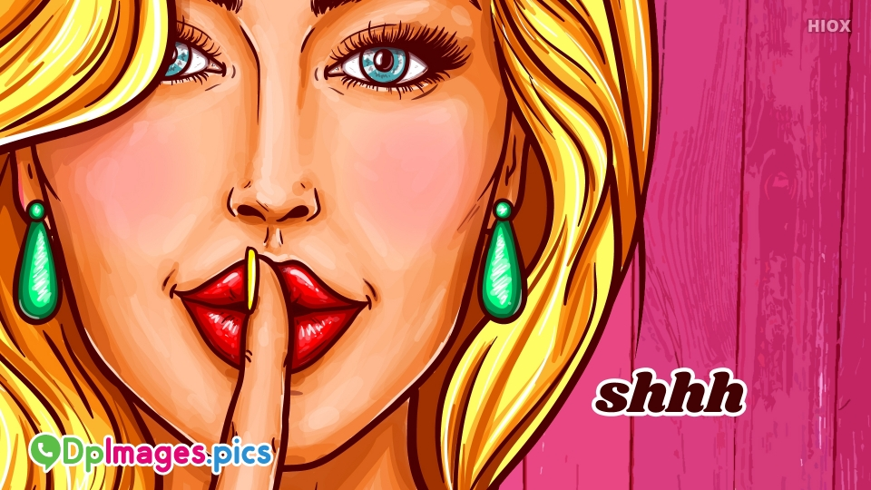Silent Whatsapp DP Images, Pictures For Download