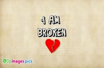 Whatsapp Dp for Broken Heart