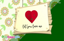 Love Dp Image | My Heart Beats For You