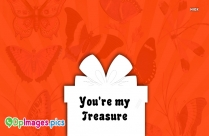 Love Dp Pic Whatsapp | You Are My Treasure