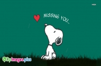 Missing You Dp With Dog
