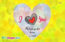 My Heart Beats Only For You I Love You Whatsapp Dp